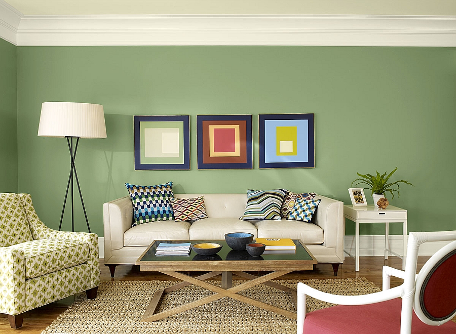 Exquisite-use-of-sage-green-in-the-living-space